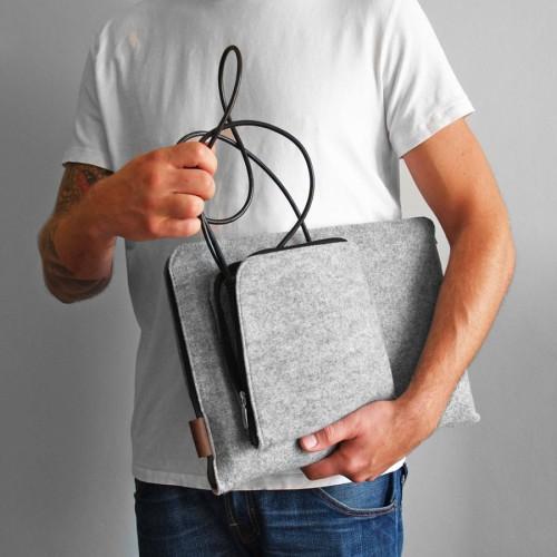 ed0873c115ec Pomysł na Oryginalny Prezent dla Mężczyzny Etui na laptopa 15 6 z ...