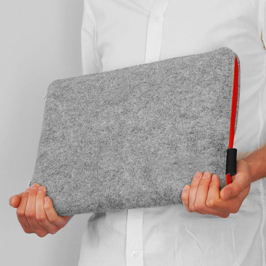 7211adf64bf85 Etui na notebooka Pokrowiec z filcu na laptopa tablet designerski ...