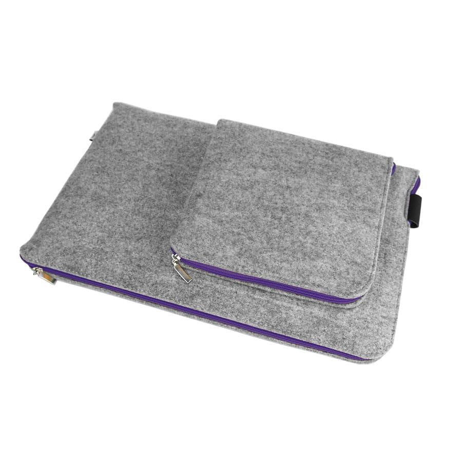 73c14b5c271f9 Etui na laptopa 11 6 cala pokrowiec na zasilacz z filcu na wymiar ...